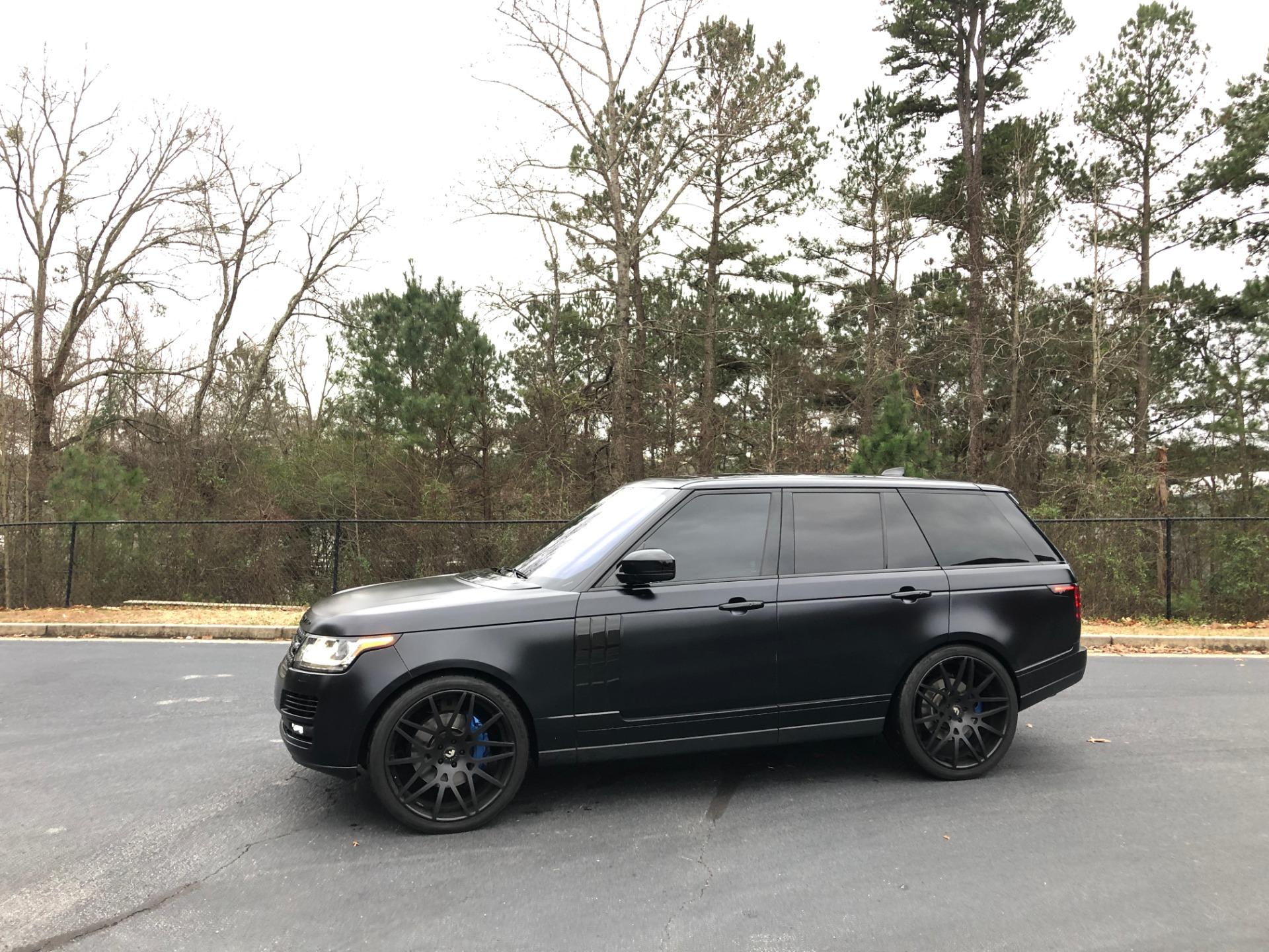 Used 2017 Range Rover SC SVO RS | Peachtree City, GA